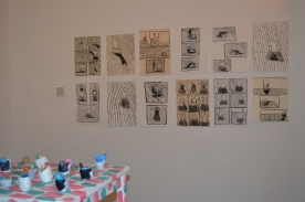 'When The Drawings Took Over' At Ground Gallery