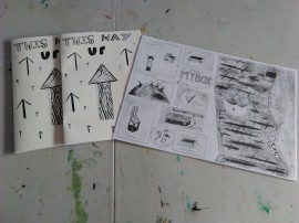 Zine from the workshops qith Artlink Explores