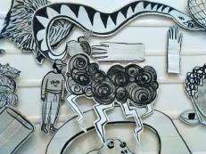 'Moving Drawing' at Landmark, Bergen Kunsthall, Norway